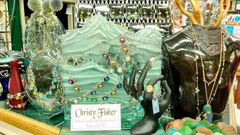 Christy Fisher Recycled Glass Jewelry