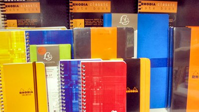 Notebooks and Day Planners
