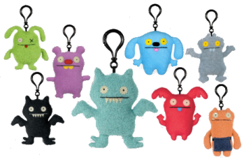 Ugly Doll Clip-ons